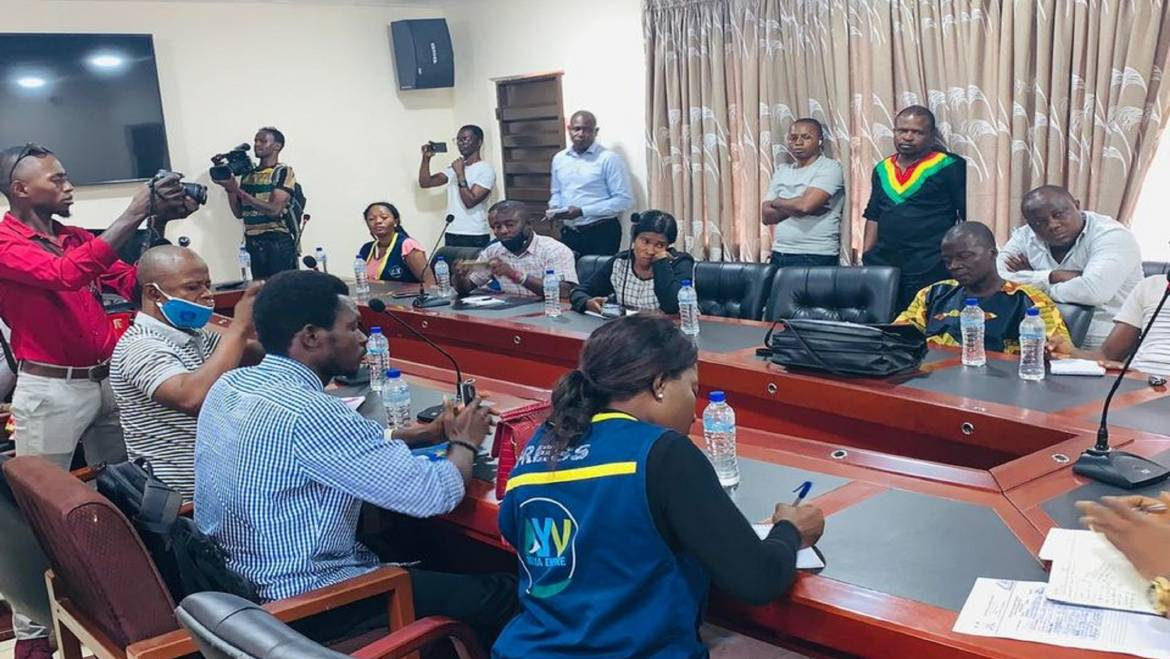 NPPA CHIEF EXECUTIVE MEETS WITH THE MEDIA